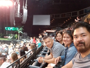 Dennis attended Kesha and Macklemore - Live in Concert - Presented by the Mandalay Bay Events Center on Jun 9th 2018 via VetTix
