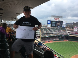 Jim attended Minnesota Twins vs. Cleveland Indians - MLB on Jul 30th 2018 via VetTix