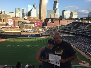 Darrin attended Minnesota Twins vs. Cleveland Indians - MLB on Jul 30th 2018 via VetTix