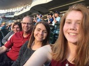 David attended Minnesota Twins vs. Cleveland Indians - MLB on Jul 30th 2018 via VetTix