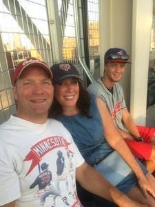 Jude attended Minnesota Twins vs. Cleveland Indians - MLB on Jul 30th 2018 via VetTix