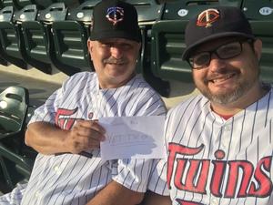 Thomas attended Minnesota Twins vs. Cleveland Indians - MLB on Jul 30th 2018 via VetTix
