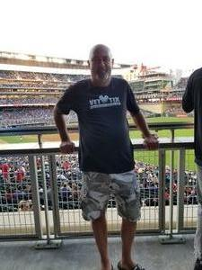Roger attended Minnesota Twins vs. Cleveland Indians - MLB on Jul 30th 2018 via VetTix