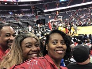 Katrina attended Washington Mystics vs. Los Angeles Sparks - WNBA on Jun 15th 2018 via VetTix