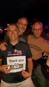 James attended Steve Miller Band With Peter Frampton on Jun 14th 2018 via VetTix