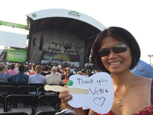 Nguyen attended Ray Lamontagne With Very Special Guest Neko Case - Pop on Jun 16th 2018 via VetTix
