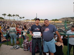 Click To Read More Feedback from Kson Presents Brad Paisley Tour 2018 - With Dan Tyminski & Kane Brown - Lawn Seats