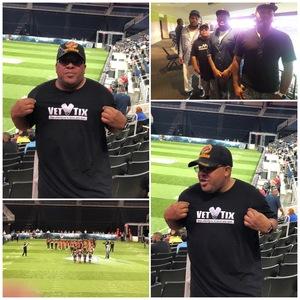 Juan attended Atlanta Steam vs. Chicago Bliss - Legends Football League - Women of the Gridiron on Jul 14th 2018 via VetTix