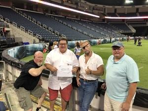 Tim attended Atlanta Steam vs. Chicago Bliss - Legends Football League - Women of the Gridiron on Jul 14th 2018 via VetTix