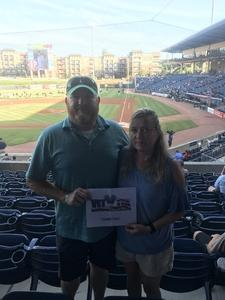 John attended Gwinnett Stripers vs. Pawtucket Red Sox - MiLB on Jul 20th 2018 via VetTix
