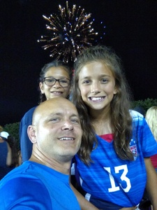 Michael attended North Carolina Courage vs. Chicago Red Stars - NWSL - National Womens Soccer League on Jul 4th 2018 via VetTix