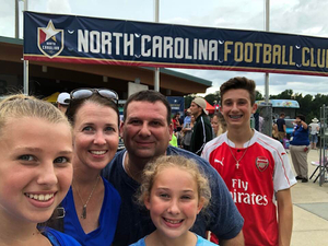MMCS(SS) USN, RET Chris Kemp attended North Carolina Courage vs. Chicago Red Stars - NWSL - National Womens Soccer League on Jul 4th 2018 via VetTix