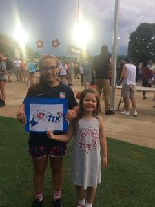Chanel attended North Carolina Courage vs. Chicago Red Stars - NWSL - National Womens Soccer League on Jul 4th 2018 via VetTix