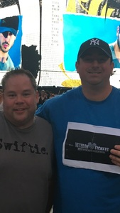 David attended Taylor Swift Reputation Stadium Tour on Jul 11th 2018 via VetTix