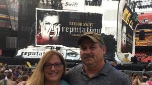 ROBERT attended Taylor Swift Reputation Stadium Tour on Jul 11th 2018 via VetTix