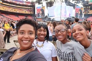Jermaine attended Taylor Swift Reputation Stadium Tour on Jul 11th 2018 via VetTix