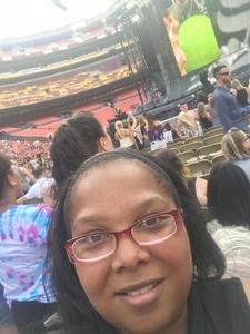 Jamia attended Taylor Swift Reputation Stadium Tour on Jul 11th 2018 via VetTix