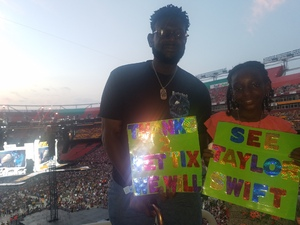Eric attended Taylor Swift Reputation Stadium Tour on Jul 11th 2018 via VetTix