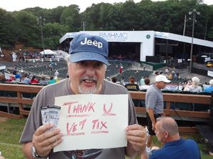 arthur attended Frankie Valli & The Four Seasons - Lawn Seating on Jul 6th 2018 via VetTix