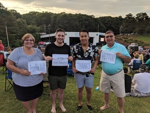Robert Kilp attended Frankie Valli & The Four Seasons - Lawn Seating on Jul 6th 2018 via VetTix