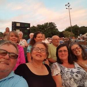 John attended Frankie Valli & The Four Seasons - Lawn Seating on Jul 6th 2018 via VetTix