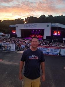 Joseph attended Frankie Valli & The Four Seasons - Lawn Seating on Jul 6th 2018 via VetTix