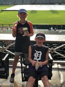 Judy attended Detroit Tigers vs. Texas Rangers - MLB on Jul 5th 2018 via VetTix