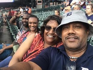 Stanley attended Detroit Tigers vs. Texas Rangers - MLB on Jul 5th 2018 via VetTix
