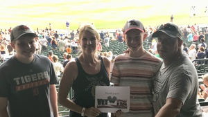 Kay attended Detroit Tigers vs. Texas Rangers - MLB on Jul 5th 2018 via VetTix