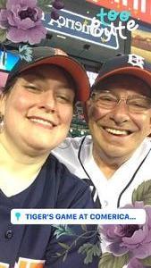 Jerry E attended Detroit Tigers vs. Texas Rangers - MLB on Jul 5th 2018 via VetTix