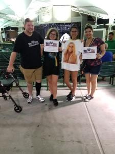 Johnathan Butler attended The Adventures of Kesha & Macklemore - Reserved Seating on Jun 23rd 2018 via VetTix