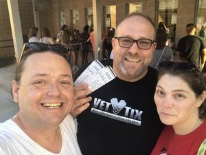 Brendan attended The Adventures of Kesha & Macklemore - Reserved Seating on Jun 23rd 2018 via VetTix
