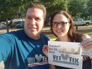 GLENN attended The Adventures of Kesha & Macklemore - Reserved Seating on Jun 23rd 2018 via VetTix