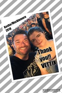 Russ attended The Adventures of Kesha & Macklemore - Reserved Seating on Jun 23rd 2018 via VetTix