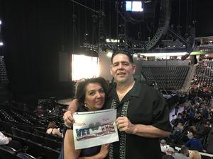 alan attended Chicago and Reo Speedwagon Live at the Pepsi Center on Jun 20th 2018 via VetTix