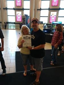 William attended Chicago and Reo Speedwagon Live at the Pepsi Center on Jun 20th 2018 via VetTix