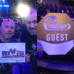 joel attended Chicago and Reo Speedwagon Live at the Pepsi Center on Jun 20th 2018 via VetTix