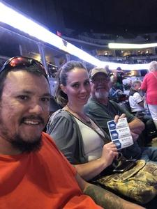 jonathan attended Chicago and Reo Speedwagon Live at the Pepsi Center on Jun 20th 2018 via VetTix