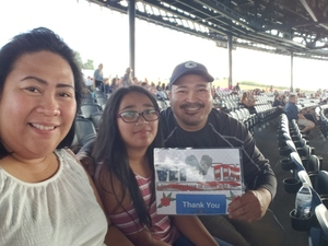 Eleanor attended STYX / Joan Jett & the Blackhearts With Special Guests Tesla on Jun 28th 2018 via VetTix