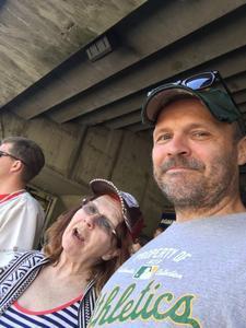 Verna Clark attended Oakland Athletics vs. San Diego Padres - MLB on Jul 4th 2018 via VetTix