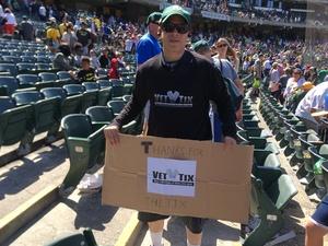 Paul attended Oakland Athletics vs. San Diego Padres - MLB on Jul 4th 2018 via VetTix