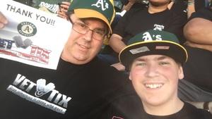 John attended Oakland Athletics vs. San Francisco Giants - MLB on Jul 21st 2018 via VetTix
