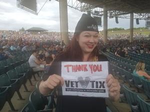 Stephanie attended Outlaw Music Festival - Willie Nelson, Sturgill Simpson and More on Jun 23rd 2018 via VetTix
