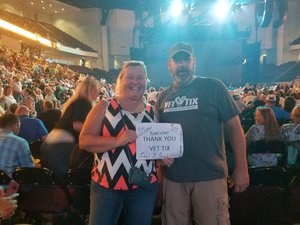 Jimmy attended Tim McGraw & Faith Hill Soul2Soul the World Tour 2018 - Country on Jun 26th 2018 via VetTix