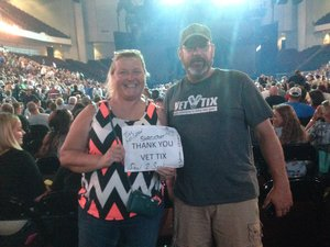 Bridget attended Tim McGraw & Faith Hill Soul2Soul the World Tour 2018 - Country on Jun 26th 2018 via VetTix
