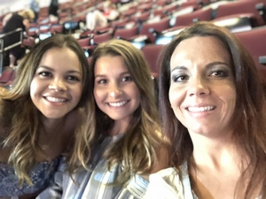 Mindy attended Tim McGraw & Faith Hill Soul2Soul the World Tour 2018 - Country on Jun 26th 2018 via VetTix