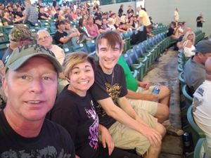 Brian attended Ted Nugent With Special Guest Blue Oyster Cult and Mark Farner on Jul 20th 2018 via VetTix