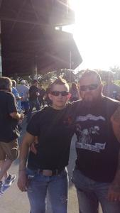 Nicole attended Ted Nugent With Special Guest Blue Oyster Cult and Mark Farner on Jul 20th 2018 via VetTix
