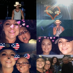 Shelly attended Kenny Chesney: Trip Around the Sun Tour With Old Dominion - Lawn Seats on Jun 21st 2018 via VetTix