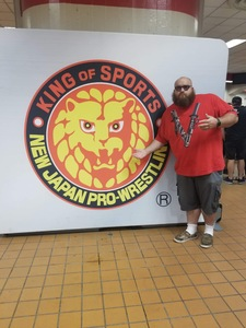 Marcus attended New Japan Pro Wrestling Presents - G1 Special in San Francisco - Live Professional Wrestling on Jul 7th 2018 via VetTix